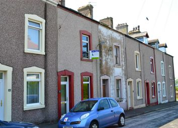 Thumbnail 3 bed terraced house for sale in Commodore Street, Whitehaven, Cumbria