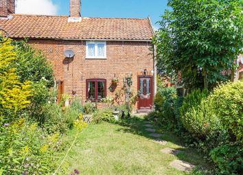 Thumbnail 2 bed end terrace house for sale in Church Path, Earsham, Bungay
