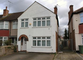 Thumbnail 3 bed semi-detached house to rent in Victoria Avenue, Hillingdon