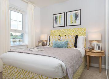 "Thumbnail 4 bedroom detached house for sale in ""Halstead"" at Carters Lane, Kiln Farm, Milton Keynes"