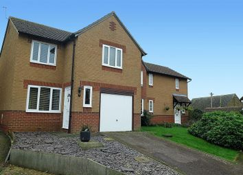 Thumbnail 3 bed detached house for sale in Laburnum Close, Woodford Halse, Daventry