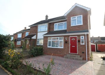Thumbnail 3 bed semi-detached house to rent in Martins Drive, Cheshunt, Waltham Cross, Hertfordshire