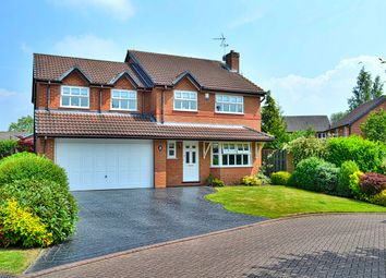 Thumbnail 5 bed detached house for sale in Newtons Crescent, Winterley, Sandbach