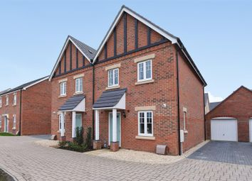 Thumbnail 3 bed semi-detached house for sale in Badgers Drive, Wantage