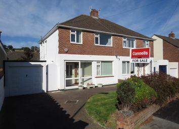Thumbnail 3 bedroom semi-detached house for sale in Courtland Crescent, Plympton, Plymouth