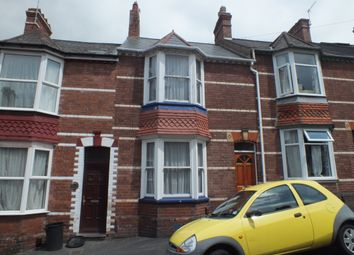 Thumbnail 2 bed terraced house to rent in Salisbury Road, St James, Exeter, Devon