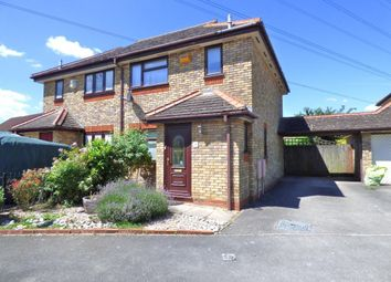 Thumbnail 3 bed semi-detached house for sale in Pembroke Close, Marston Moretaine, Beds