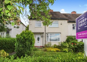 Thumbnail 3 bed semi-detached house for sale in Kirkston Avenue, Newcastle Upon Tyne
