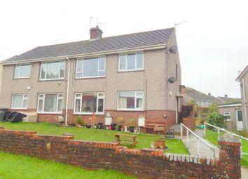 Thumbnail 1 bed flat for sale in Gellideg, Pontardawe, Swansea