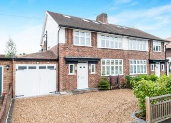 Thumbnail 4 bedroom semi-detached house for sale in Worcester Park, Surrey