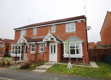Thumbnail 3 bed semi-detached house for sale in Armstrong Drive, Willington, Crook