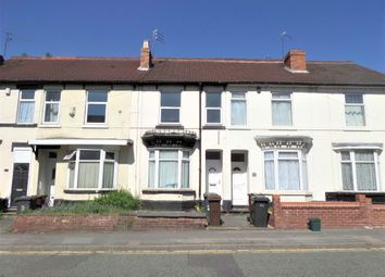 Thumbnail 3 bed terraced house to rent in Hordern Road, Wolverhampton, West Midlands