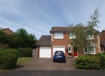 Thumbnail 4 bed detached house for sale in Keston Drive, Cramlington
