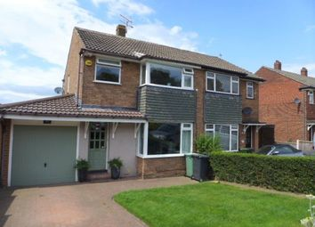 Thumbnail 3 bed semi-detached house for sale in Moseley Wood Gardens, Cookridge, Leeds