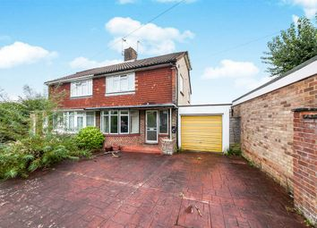 Thumbnail 3 bed semi-detached house for sale in The Ridgeway, Burgess Hill