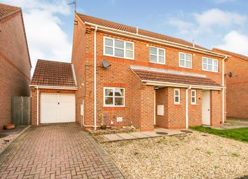 Thumbnail 3 bed semi-detached house for sale in Viking Way, Whittlesey, Peterborough