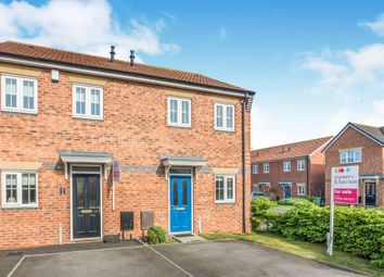 Thumbnail 2 bedroom semi-detached house for sale in Larpool Close, Hartlepool