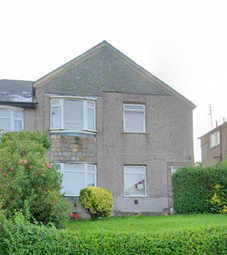 Thumbnail 3 bed flat for sale in Gladsmuir Road, Glasgow