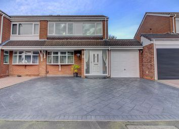 Thumbnail 3 bed semi-detached house for sale in Lotus, Glascote, Tamworth