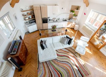 Thumbnail 2 bed flat for sale in Kingsway Place, London