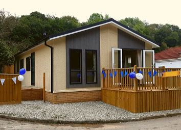 Thumbnail 2 bed mobile/park home for sale in St. Dominic Park, Harrowbarrow, Callington