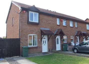 Thumbnail 2 bedroom end terrace house to rent in Sledmere Close, Billingham