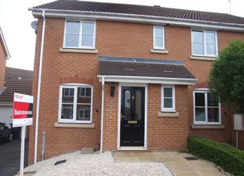 Thumbnail 3 bed semi-detached house to rent in Wheatcroft Close, Redditch