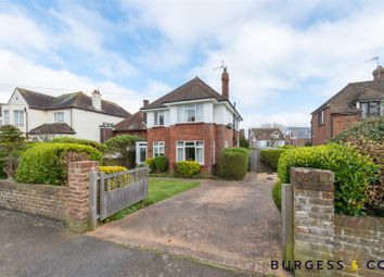 Thumbnail 4 bed detached house for sale in Manor Road, Bexhill-On-Sea