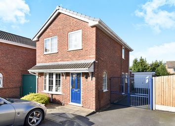 Thumbnail 3 bed detached house for sale in Rye Close, Oakwood, Derby