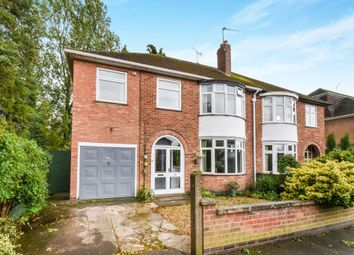 Thumbnail 5 bedroom semi-detached house for sale in South Kingsmead Road, Leicester