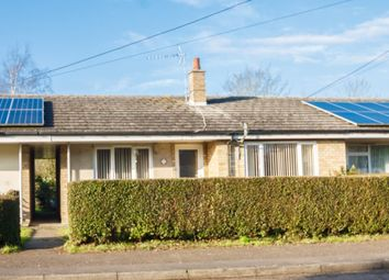 Thumbnail 2 bedroom terraced bungalow for sale in Chapel Road, Weston Colville, Cambridge