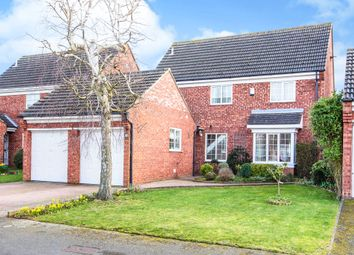 Thumbnail 4 bed detached house for sale in Wordsworth Avenue, Eaton Ford, St. Neots