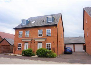 Thumbnail 4 bed semi-detached house for sale in Merevale Way, Derby
