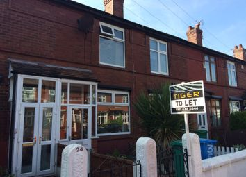 Thumbnail 2 bed terraced house to rent in Dundonald Road, Didsbury