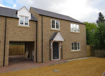 Thumbnail 4 bedroom detached house for sale in Mortons Court, Station Road, March