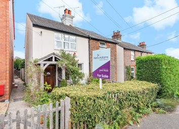 Thumbnail 2 bed semi-detached house for sale in Amberley Road, Storrington