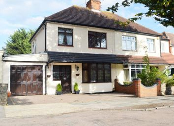 Thumbnail 3 bed semi-detached house for sale in Woodstock Avenue, Harold Wood