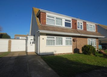 Thumbnail 3 bed semi-detached house for sale in Ruskin Close, Selsey
