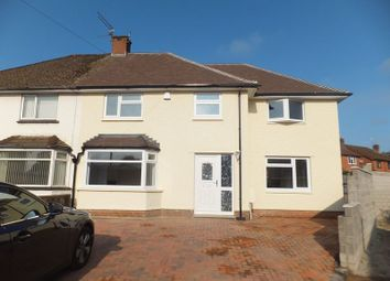 Thumbnail 4 bed semi-detached house to rent in College Road, Whitchurch, Cardiff