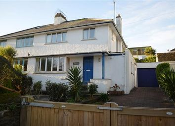 Thumbnail 3 bed semi-detached house for sale in Arwenack Avenue, Falmouth