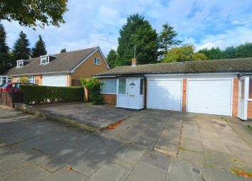 Thumbnail 1 bed bungalow to rent in Welland Vale Road, Evington, Leicester