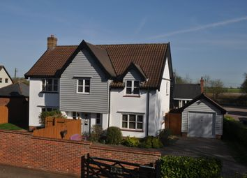 Thumbnail 4 bed detached house for sale in Fenns Meadow, Combs, Stowmarket