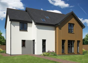 Thumbnail 4 bed detached house for sale in Linkwood Road, Elgin