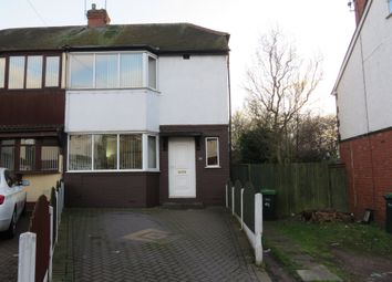 Thumbnail 2 bedroom semi-detached house for sale in St. Pauls Crescent, West Bromwich