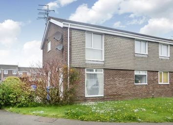 Thumbnail 2 bedroom flat for sale in Newlyn Drive, Cramlington