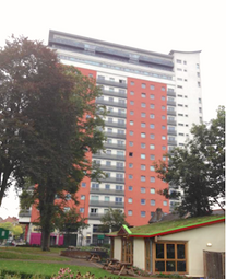 Thumbnail 2 bed flat for sale in 1 Throwley Way, Sutton