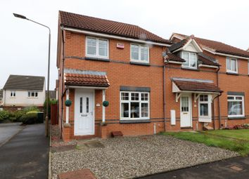 Thumbnail 3 bed end terrace house for sale in Caledonian Court, Falkirk