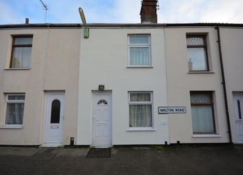 Thumbnail 3 bedroom terraced house for sale in Walton Road, Lowestoft