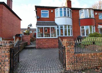 Thumbnail 3 bed semi-detached house for sale in Dartmouth Road, Whitefield, Manchester