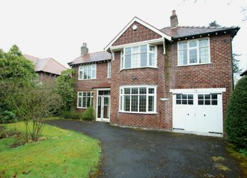 Thumbnail 4 bed detached house for sale in Whalley Road, Hale, Altrincham